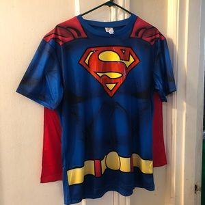 Superman Top w cape